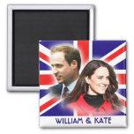 Prinz William u. Kate Middleton Magnet Kühlschrankmagnet