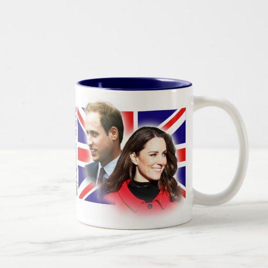 Prinz William u. Kate Middleton Tasse