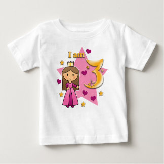 Prinzessin Age 3 Baby T-shirt