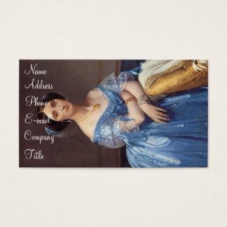 """Prinzessin Albert de Broglie' Visitenkarte"