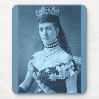 Prinzessin Alexandra von Dänemark im Blau Mauspads