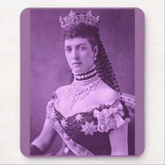 Prinzessin Alexandra von Dänemark im Lavendel Mousepad
