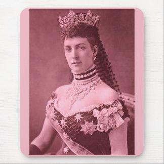 Prinzessin Alexandra von Dänemark im Rosa Mousepad