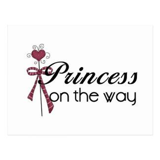 Prinzessin auf der Weise - besonders angefertigt Postkarte