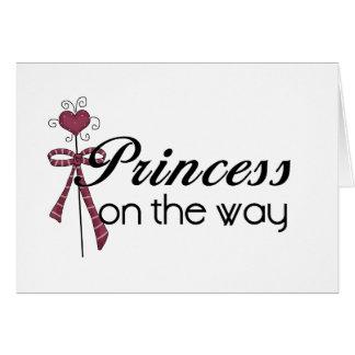 Prinzessin auf der Weise Grußkarte