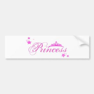 Prinzessin Autoaufkleber