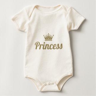 Prinzessin Baby Strampler