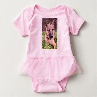 Prinzessin Belgian Malinois Dog Baby Strampler