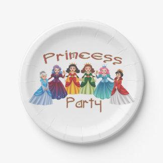 Prinzessin Birthday Party Pappteller
