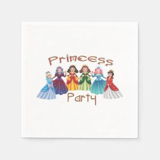 Prinzessin Birthday Party Servietten