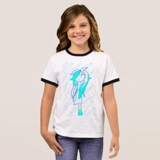 Prinzessin Blue Ringer T-Shirt