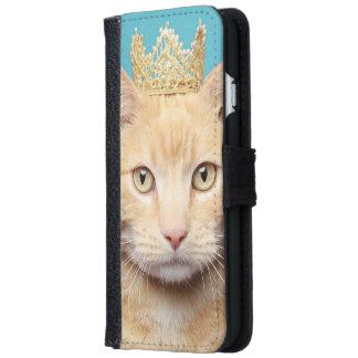 Prinzessin Cat iPhone 6/6s Geldbeutel Hülle