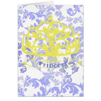 Prinzessin Crown Card Karte