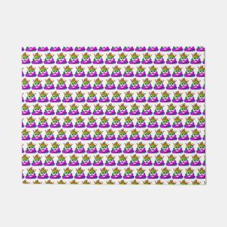 Prinzessin Crown Rainbow Emoji Poop Türmatte