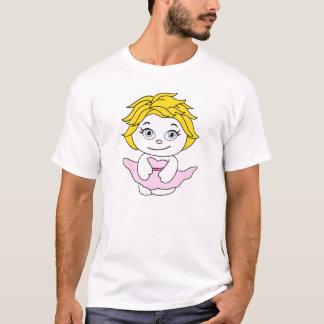 Prinzessin Dancing Cartoon T-Shirt