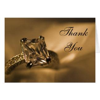 Prinzessin Diamond Bridesmaid Thank You Karte