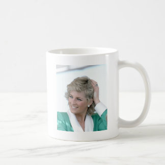 Prinzessin Diana Australien 1988 Kaffeetasse