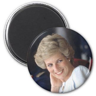 Prinzessin Diana Nigeria Runder Magnet 5,7 Cm