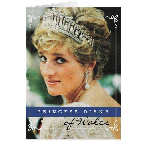 Prinzessin Diana von Wales Karte