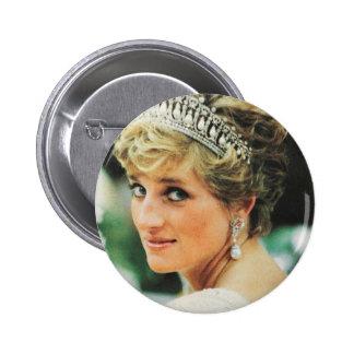 Prinzessin Diana von Wales Runder Button 5,1 Cm