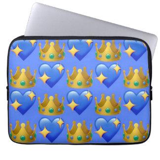 Prinzessin Emoji Laptop Sleeve