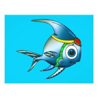 Prinzessin Fish 21,6 X 27,9 Cm Flyer