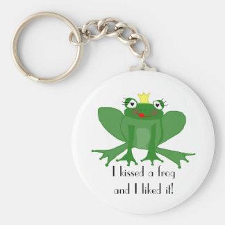Prinzessin Frog Funny Keyring Schlüsselanhänger
