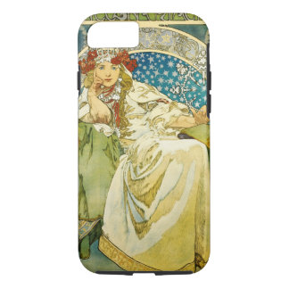 Prinzessin Hyacinth Art Nouveau Alphonse-Mucha iPhone 8/7 Hülle
