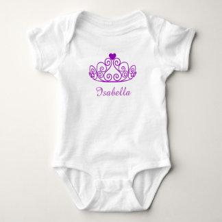 Prinzessin Isabella Shirt, addieren den Namen Baby Strampler
