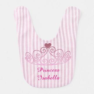 Prinzessin Isabella, zacken Kronen-Schellfisch, Babylätzchen