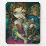 """""""Prinzessin mit einer Maine-Waschbär-Katze"""" Mousep"""