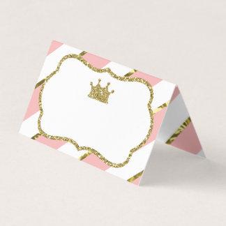 Prinzessin Platzkarten, Nahrungsmittelkarten, Platzkarte