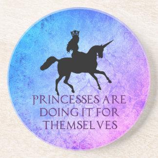 Prinzessin Power Coaster Sandstein Untersetzer