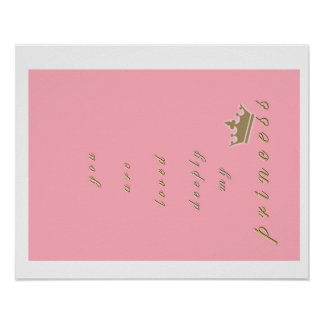 Prinzessin Print Poster