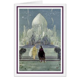 Prinzessin Rosette durch Virginia Frances Sterrett Grußkarte