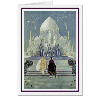 Prinzessin Rosette durch Virginia Frances Sterrett Grußkarten