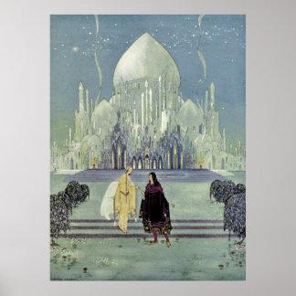 Prinzessin Rosette durch Virginia Frances Sterrett Poster