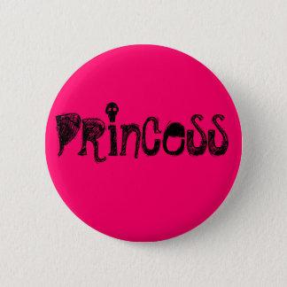 Prinzessin Runder Button 5,7 Cm