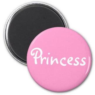 Prinzessin Runder Magnet 5,1 Cm