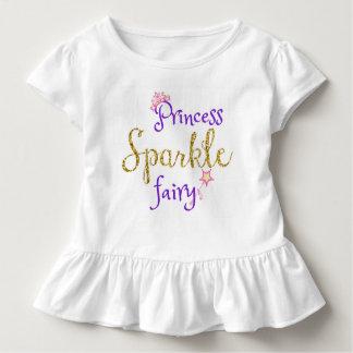 Prinzessin Sparkle Fairy, mit Tiara u. Stab! Kleinkind T-shirt