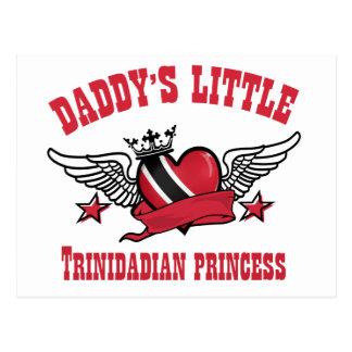 Prinzessinentwürfe von Trinidad Postkarte