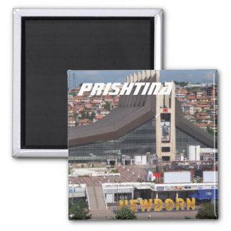 Prishtina, Kosovo Quadratischer Magnet
