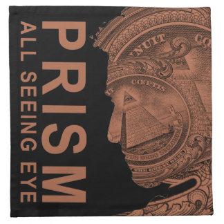 PRISMA - alle sehende Augen-Orange Stoffserviette