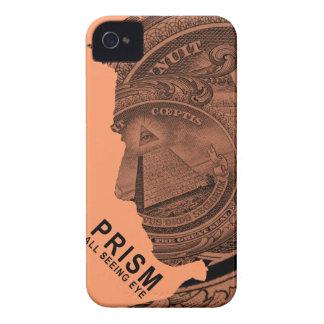 PRISMA - alles sehende Auge - Aprikose iPhone 4 Hüllen