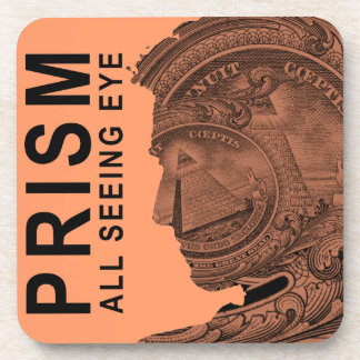 PRISMA - alles sehende Auge - Aprikose Untersetzer