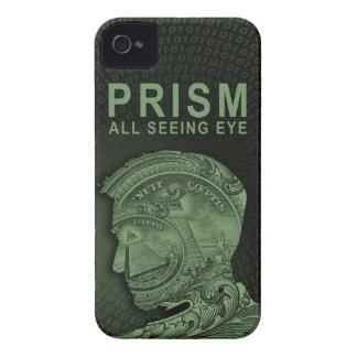 PRISMA - alles sehende Auge - Grün iPhone 4 Etuis