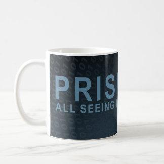 PRISMA - alles sehende Auge - Schiefer Kaffeetasse