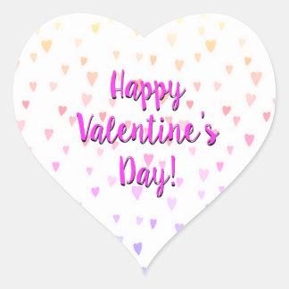 Prisma-Herz-Valentinstag Herz-Aufkleber