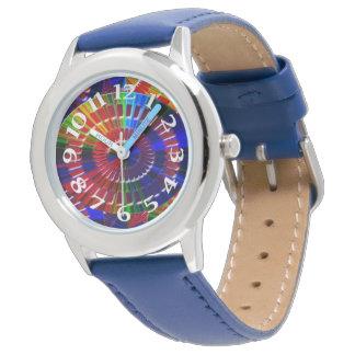 Prismatische Farben Armbanduhr