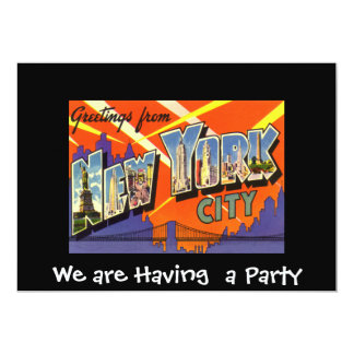 Private Party Einladung New York